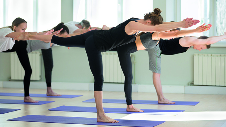 is yoga een sport?
